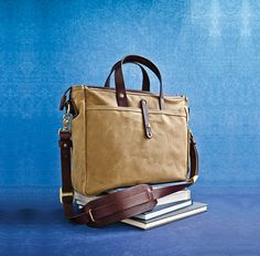 EMIL ERWIN  Canvas and leather bags