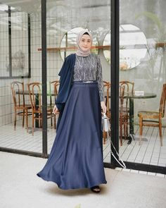 Photos and Videos – Hijab Fashion 2020 Dress Brukat, Hijab Dress Party, Hijab Style Dress, Modest Fashion Hijab, Abaya Fashion, Batik Dress, Muslim Fashion, Dress Outfits, The Dress