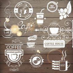 Coffee Emblems  #GraphicRiver