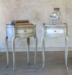 Pair of Vintage Louis XV Style Nightstands