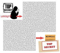 """""""DES AGENTS TRES TRES SECRETS """" : idées, modèles et visuels..."""