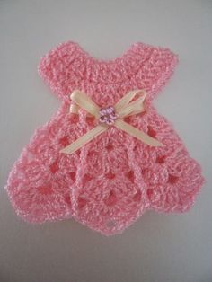 Crochet Small Dress Pattern fo