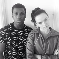 John Boyega and Daisy Ridley Interviews and Live Appearances