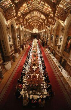 State Banquet at Windsor Castle. #Belvedere #Quarante #Herault #Languedoc