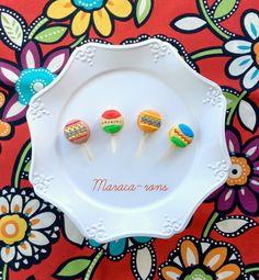 Maraca-rons for Cinco de Mayo