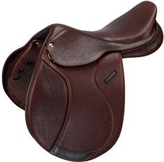 Collegiate Parfaire Covered Leather Close Contact Saddle | ChickSaddlery.com