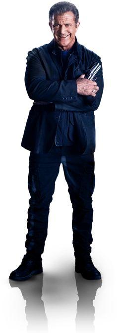 The Expendables 3 - Gibson as Conrad Stonebanks Hollywood Movie Film, Hollywood Stars, Film Movie, Mel Gibson, Mad Max, Expendables Movie, Sylvester Stallone, Action Movie Stars, Australian Actors