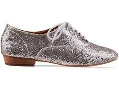sparkly oxfords!