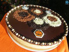tarta mousse de dulce de leche  por Ana Sevilla