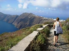 Great way to see al of Santorini by foot. 2 hr. hike from Fira, (capital) to Oia (northern side magical village~ 6 miles-- Also, ask #archaeologous.com for any private tours you might be interested in taking.