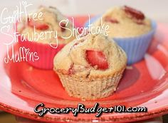 Guilt Free Strawberry Shortcake