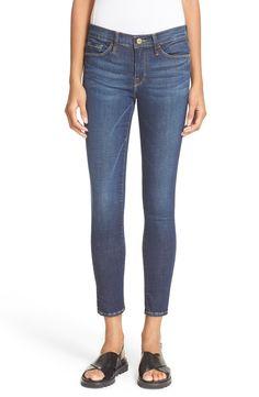 FRAME 'Le Skinny de Jeanne' Crop Jeans (Lennox)