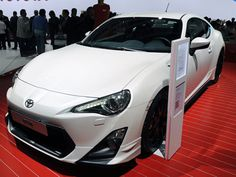 Toyota 86 TRD at Paris Motor Show