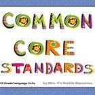 My principal loves these!  Post the Common Core standards for language arts around your fifth grade classroom with these uniquely illustrated poste...