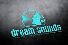 Dj logo template by sz81 on @creativemarket
