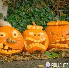 Zucche bizzarre #HalloweenRoll