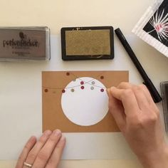 Stamp invitation II 🥂- Einladung stempeln II 🥂 With our mini dot we can easily conjure a garland! A nice invitation for a summer party? Diy Gifts For Friends, Best Friend Gifts, Diy Birthday, Birthday Cards, Christmas Diy, Christmas Cards, Tarjetas Diy, Diy And Crafts, Paper Crafts