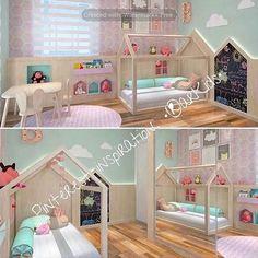 Ideas 🙌🏻✨ #pinterest#pinterestinspired #decoracioninfantil #decoracion#interiores#interioresparaniños #habitacionesinfantiles #niños #arkids#bogota #colombia #camas#carpinteriainfantil#3d