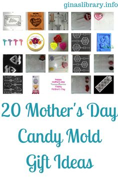 Mom's are known for baking up delicious homebaked cakes and desserts for us all the time. Why not made mom some specialized chocolates? She'd love them!