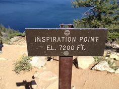 Inspiration Point at Jenny Lake in Grand Tetons