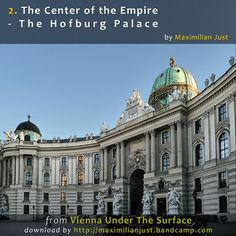 The epicenter of imperial power was the Hofburg from where the Habsburg ruled the fates of their 51 million subjects.   Each of the emperors expanded the Hofburg by another new wing. And thus the Hofburg grew to be a city within a city with more than 5,000 people living and working there... If you buy the entire album, you will get for FREE Vienna Maps with the numbers that correspond to the track numbers of Audio Walks [ 2.40h of Vienna Walks for only $9.50 ]
