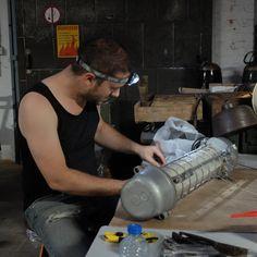 PJ @work - concentration!