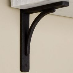 Rustic Cast Iron Shelf Bracket - Shelf Brackets - Signature Hardware