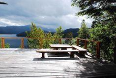 Casa con vista panorámica al lago - Casas en alquiler en Villa La Angostura