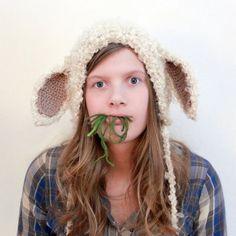Crochet Pattern - Lamb Bonnet