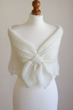 Bow-Tie/ Ascot scarf/shawl