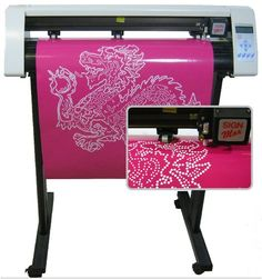 "24"" Rhinestone Template Making Lettering Vinyl Cutter New 2014 Pro Software | eBay"
