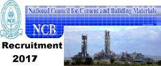 Electrical Engineer/Civil Engineer  National Council for Cement and Building Materials-NCB Recruitment-Electrical Engineer/Civil Engineer-6 Vacancies  Apply Online