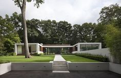 New Canaan Residence | Specht Harpman | Archinect - a favourite of mine!