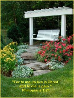 """""""LIFE""""  Philippians  1:21 For to me to live is Christ, and to die is gain."""