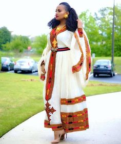 African Clothing For Men, African Women, African Fashion, African Party Dresses, African Dress, African Lace, African Fabric, Ethiopian Traditional Dress, Traditional Dresses