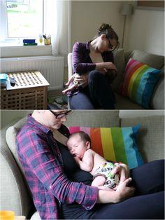 honest newborn photography, feeding baby, cambridge photo session