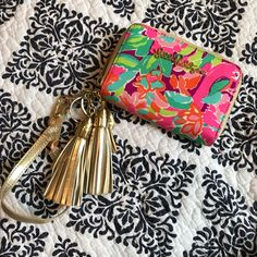 Lilly Pulitzer Call Me Wristlet Wallet