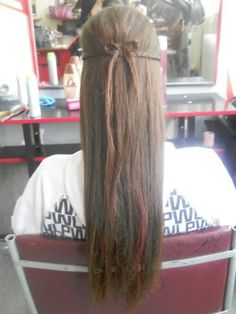 small braid bow