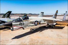Vought F-8J Crusader #plane #1960s