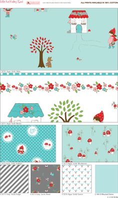 Little Red Riding Hood ~ Aqua  Tasha Noel