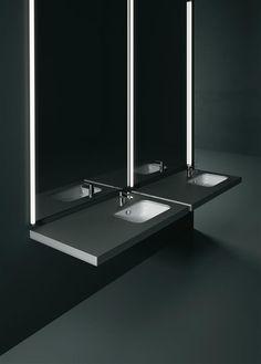 GSI ceramic | Pura, washbasin 55x38 - 50x35