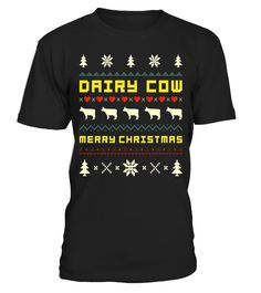 "# DAIRY COW Christmas T-Shirt, Ugly Christmas Sweater T-shirt .  Special Offer, not available in shops      Comes in a variety of styles and colours      Buy yours now before it is too late!      Secured payment via Visa / Mastercard / Amex / PayPal      How to place an order            Choose the model from the drop-down menu      Click on ""Buy it now""      Choose the size and the quantity      Add your delivery address and bank details      And that's it!      Tags: DAIRY COW Ugly…"