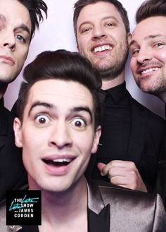 Panic! At The Disco on the late late show with James Corden