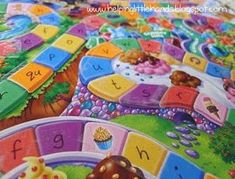 Ways to modify Candyland for therapy.