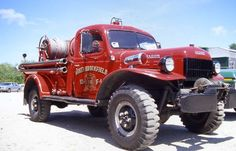 Dodge Power Wagon brush truck, North Brookfield, MA Cape Cod Brush Breakers 4