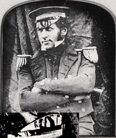 LT Graham Gore, a member of the Franklin expedition, circa 1845.