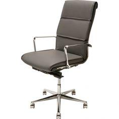 Campbell Office Chair, Dark Grey | Memoky.com