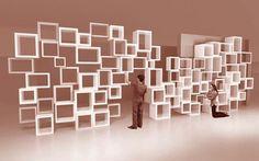 parametric shelving storage furniture