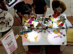 変形積木の影絵を切りとろう!|ちびっこ藝大でアートにチャレンジ!
