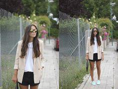 Fendi Sunglasses, Blazer, Bucket Feet Slipon